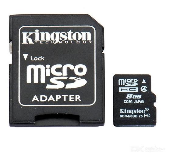 Tarjeta De Memoria 8gb Clase 10 Micro Sdhc Y Adaptador K0