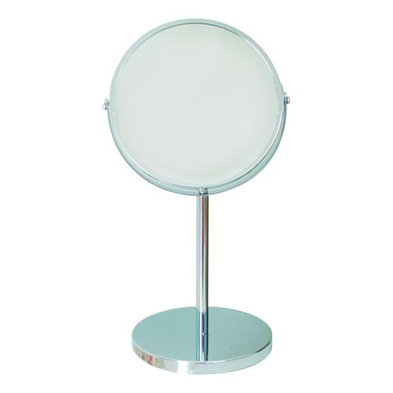 Nameeks RA20-18-02 Rainbow Pedestal Magnifying Make Up Mirror White