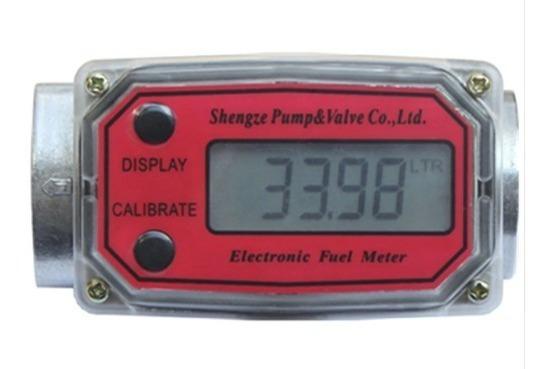 Medidor Digital De Fluxo Gasolina/diesel/água/químicos