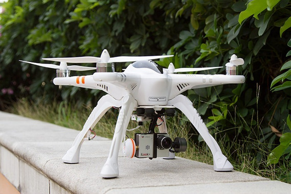 Drone Walkera Qr X 350 Pro Controle Devo F12 E Ilook Fpv