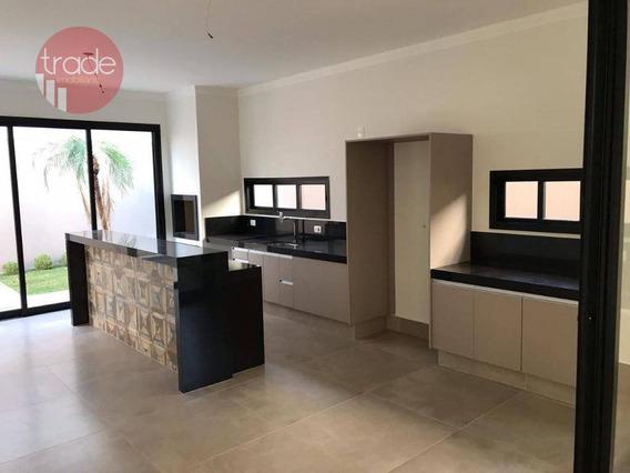 Casa Com 3 Suítes À Venda, 200 M² Por R$ 950.000 - Condomínio Buona Vita - Ribeirão Preto/sp - Ca2937
