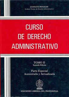Curso De Derecho Administrativo. Tomo Ii