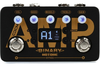 Pedal Hotone Bap-1 Binary Amp