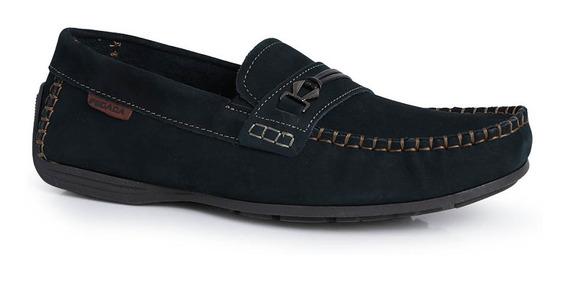 Sapato Mocassim Masculino Pegada Nobuck