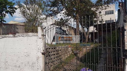 Terreno À Venda, 200 M² Por R$ 350.000,00 - Jardim Nascimento - São Bernardo Do Campo/sp - Te0776