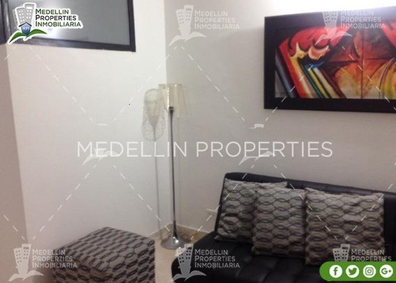Arrendamientos De Apartamentos Baratos En Medellín Cód: 4670