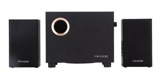 Parlante Multimedia 2.1 Microlab M105 3.5 2 Rca Subwoofer