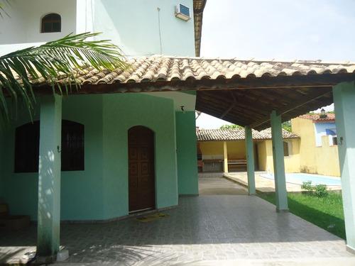 Sobrado C/piscina 350 Metros Da Praia - Ref. 882  Paranapuãn