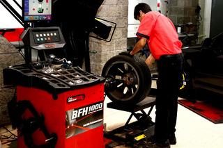 4 Balanceos + Rotación Bridgestone Oficial