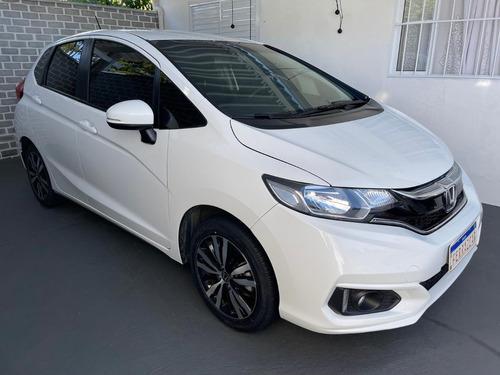 Imagem 1 de 15 de Honda Fit 1.5 Ex Aut Ano 2018  Aceito Trocas Fac Entr Cartão