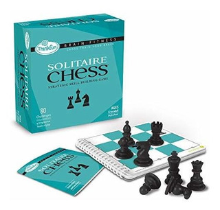 Thinkfun Brain Fitness Solitaire Chess Logic Game And Stem T