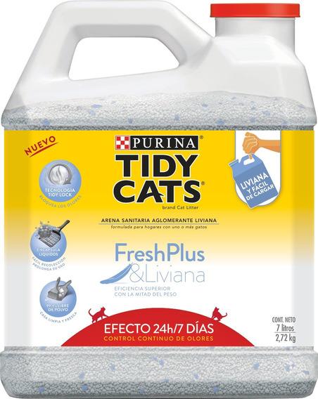 Purina® Tidy Cats® 2,7kg / 7 Litros.