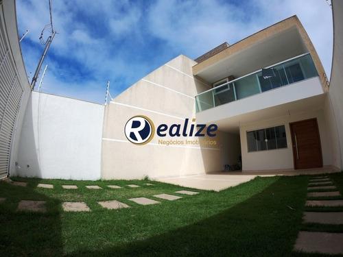 Casa Duplex De 217m² De 3 Quartos No Bairro Itapebussu Em Guarapari-es - Ca00143 - 68719245