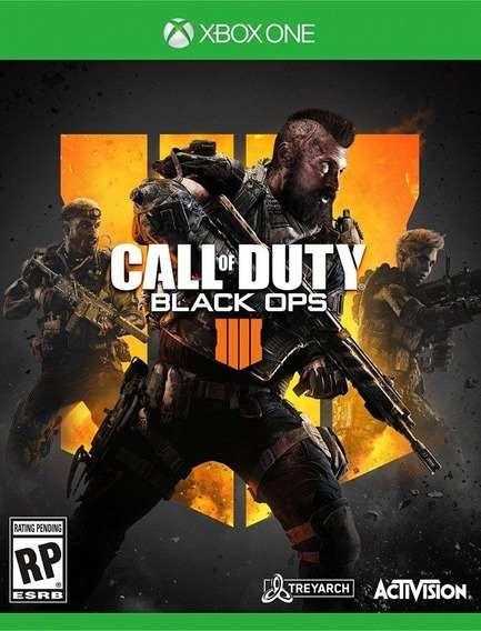 Call Of Duty Black Ops 4 Xbox One Mídia Física Cod Bo4 Iv