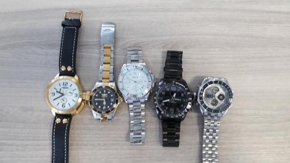 Lote De Relógios Originais