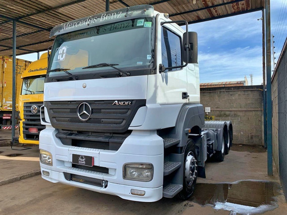 Mercedes Benz Mb Axor 2544 S 2010 Manual 6x2 Trucado = Vw 10