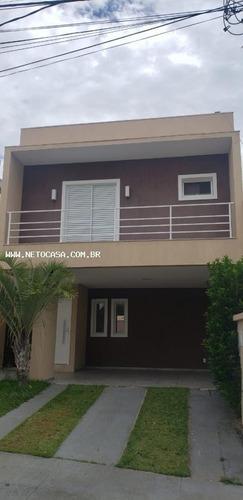 Casa Em Condomínio Para Venda Em Sorocaba, Wanell Vile, 3 Dormitórios, 3 Suítes, 4 Banheiros, 4 Vagas - Cac624_1-1847299