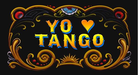 Cartel Retro Vintage Filete - Yo Amo Tango - 25 X 15 Cm