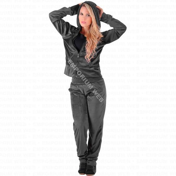 Conjunto Plush Veludo Feminino Adulto Melhor Preço Atacado Revenda Calça + Blusa / Agasalho Com Capuz Frio Inverno