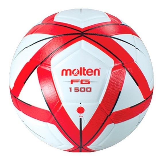 Balon Futbol Molten Forza Laminado F5g 1500 Rojo/blanco #5
