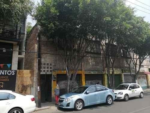 Terreno Comercial Y Habitacional . Cerca Metro Tacuba.