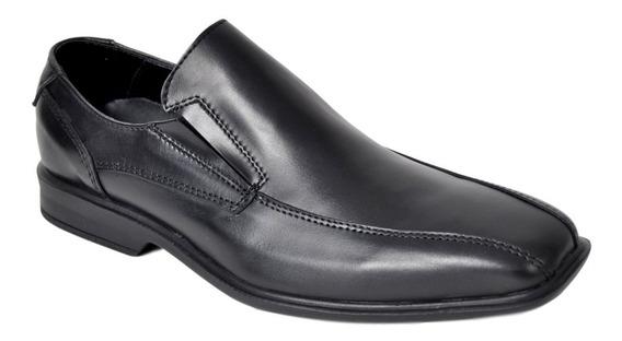 Zapato Hombre Vestir Cuero Campus 4001 Base Goma Elástico