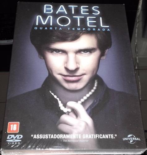 Box Bates Motel - 4ª Temporada (3 Dvds) C/luva - Lacrado