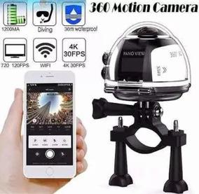 Câmera Panorâmica 360 Wi-fi Filma 360 Grau Xdv360