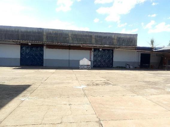 Excelente Galpão Industrial Com 5.000m² De Contrução , Em Campinas!!!! - Ga0030