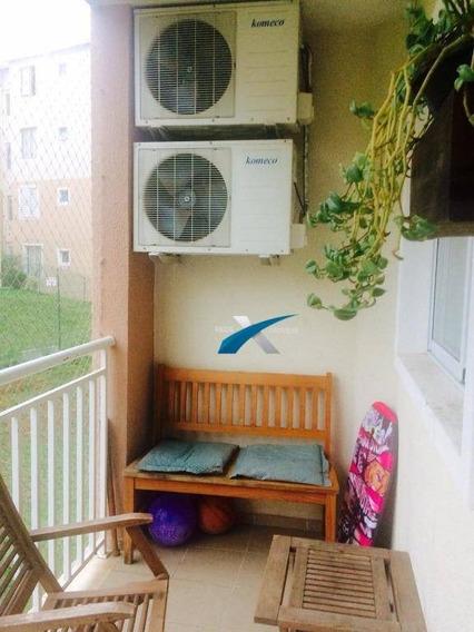 Apartamento 3 Dormitórios À Venda, 73 M² Por R$ 299.000 - Cézar De Souza - Mogi Das Cruzes/sp - Ap5475