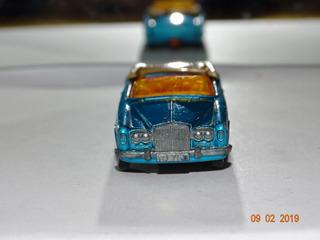 Matchbox Nº69 Rolls Royce Silver Shadow Coupe B088