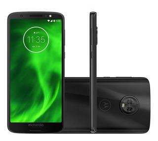 Smartphone Moto G6 64gb Android 8.0 Oreo Câmera 12+5mp/16mp