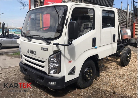 Jmc Carrying Doble Cabina 3.2 Ton Rueda Sencilla
