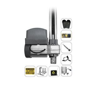 Kit Motor Portão Basculante Ppa 1/2 + Trava Suporte Tx Car