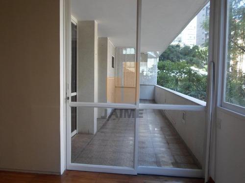 Apartamento Para Venda / Locação No Bairro Higienópolis Em São Paulo - Cod: Ja5768 - Ja5768
