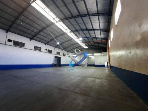 Galpão Para Alugar, 1000 M² Por R$ 12.000,00/mês - Vila Galvão - Caçapava/sp - Ga0055