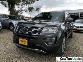 Ford Explorer Limited 4x4 At 3500cc 2017