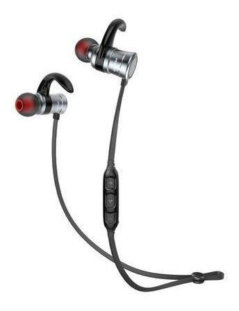 Audífonos Magnéticos Awei Ak5 Inal. Bt Deportivos Gris Kusa-