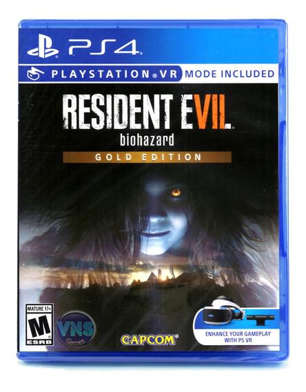 Resident Evil 7 Biohazard - Gold Edition - Ps4 - Lacrado