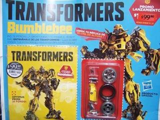 Colección La Nación Transformers Bumblebee Entrega N°1 Y N°2