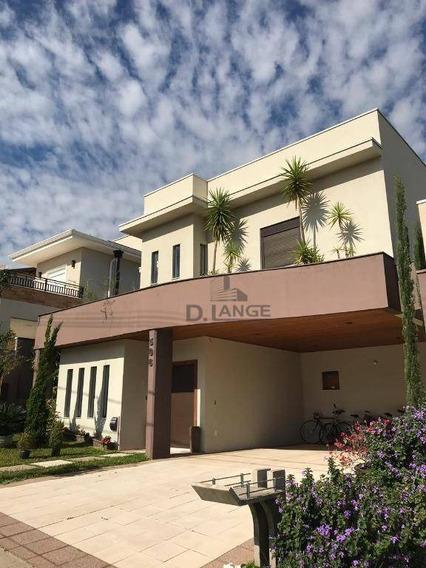 Excelente Casa No Condomínio Parque Dos Alecrins! - Ca12981