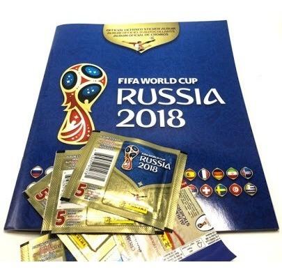 Panini Kit De Inicio Rusia 2018 Album Y 5 Sobres Envío