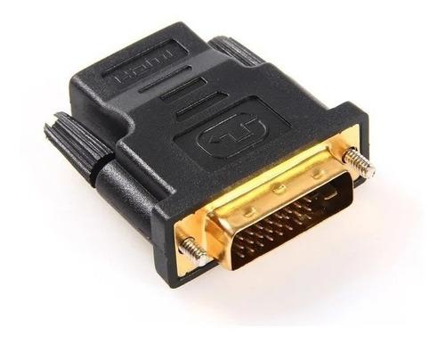 Imagen 1 de 2 de Adaptador Dvi 24+5 Dual Link Macho A Hdmi Hembra