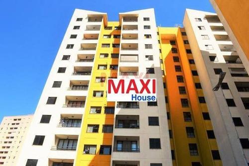 Apartamento De 3 Dormitórios À Venda No Moradas Da Flora No Jaguaribe Em Osasco - Ap0143