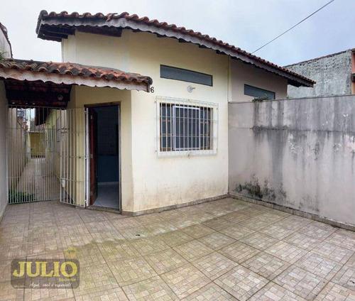 Imagem 1 de 17 de Casa Com 2 Dormitórios À Venda, 70 M² Por R$ 180.000 - Nova Itanhaém - Praia - Itanhaém/sp - Ca4305
