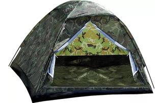 Barraca Camping Camuflada Militar 6 Lugares + Barato