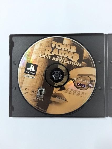 Juego Saga Tomb Raider The Last Revelation Para Playstation