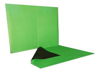 Fondo Infinito Croma Key Verde 3x2 Con Estructura Y Piso!!