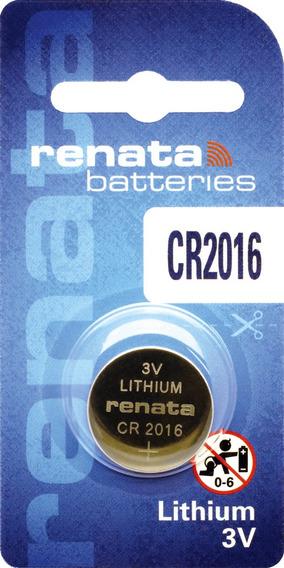 100 Baterias Pilhas Lithium Renata Cr2016 10 Caixas C/ 10 Un