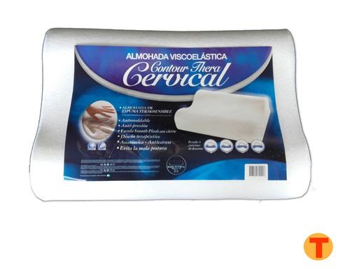 Almohada Contour Cervical Memoria Inteligente